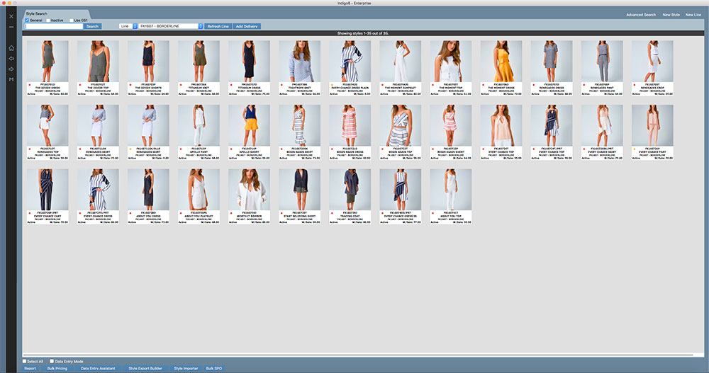 Indigo8 is fashion software that works equally well on a PC or MAC. We are sure you will love the visual interface