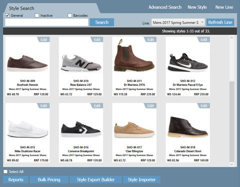 A fashion focused software system providing inventory management you need running a fashion business
