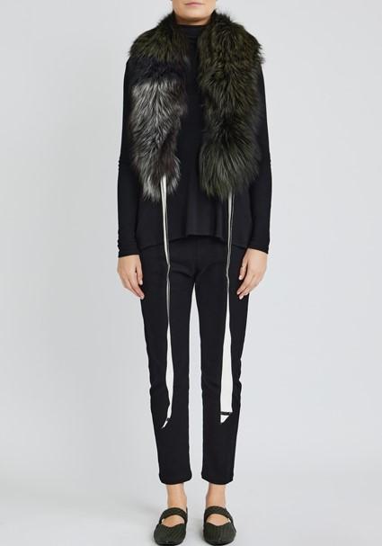 buy the latest Camillia Patchwork Fur Wrap online